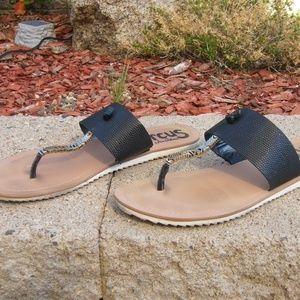"""Circus Sam Edelman """"Saxon"""" Thong Sandals Size 9.5"""